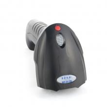 哈尔普(help)有线无线扫描枪条码或二维码扫码枪扫描仪 兼容无线有线一维二维码扫描枪微信支付H5w黑色