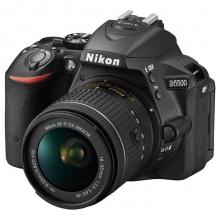 尼康(Nikon) D5500 单反双头套机(AF-P DX 18-55mm f/3.5-5.6G VR镜头 + DX 35mm 1.8G 自动对焦镜头)