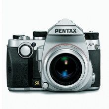 宾得(PENTAX)KP单反相机机身 银色 2432万像素 5轴5级机身防抖 高端小型单反相机