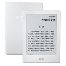 亚马逊 Kindle电子书阅读器电纸书 6英寸电子触控显示屏电子书 白色