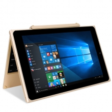 【pc平板二合一】伟卓(Venturer)学生电脑 便携式电脑10.1英寸 金色 64GB