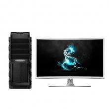 战龙(COMDRAGON)战龙X7P 游戏电脑(I7-6700 16G 1TB 128G SSD GTX1060 6G独显 Win10)31.5英寸