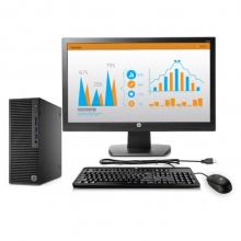 惠普(HP)280 Pro G2 SFF 台式办公电脑整机(奔腾G4400 4G 500G Win10 office 3年上门服务)19.5英寸