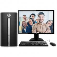 惠普(HP)畅游人Pavilion 570-p030cn台式办公电脑整机(i3-6100 4G 500G Win10 三年上门)19.5英寸