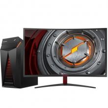 机械革命(MECHREVO)NX5-V500T 台式游戏电脑整机(i5-7400 8G 128GSSD+1T GTX1050TI*4G独显)31.5英寸