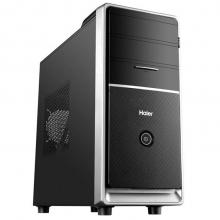 海尔(Haier)天越Y7 台式电脑主机(新I5-6400 4G DDR4 1TB 键鼠 PCI插槽 COM串口 Win10 )