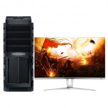 战龙(COMDRAGON)战龙X3 游戏电脑(I5-6400 8G 1TB 128G SSD GTX750TI 2G独显 Win10)27英寸