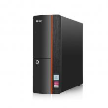 海尔(Haier)天越 H5 台式电脑主机(I3-7100 4G DDR4 500G 有线键鼠 Win10 )