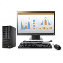 惠普(HP)280 Pro G2 SFF 台式办公电脑整机(i5-6500 4G 1T DVDRW Win10 office 3年上门服务)23英寸