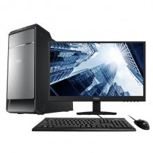 海尔(Haier)天越D7 台式电脑整机(I5-7400 8G DDR4 1TB 有线键鼠 Win10 )20.7英寸