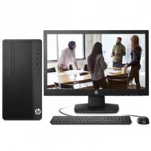 惠普(HP)战86 台式办公电脑整机(i3-7100 4G 1TB DVDRW Win10 Office 三年上门服务)21.5英寸