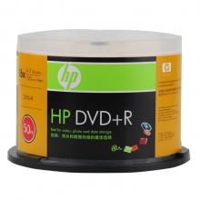 惠普(HP)DVD+R 16速 4.7G 桶装50片 刻录盘