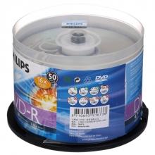 飞利浦(PHILIPS)DVD-R 16速 4.7G 桶装50片 刻录盘