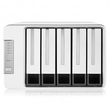 铁威马(TerraMaster)D5-300 5盘RAID磁盘阵列盒 阵列柜 硬盘盒 USB3.0 (非NAS网络存储云存储)
