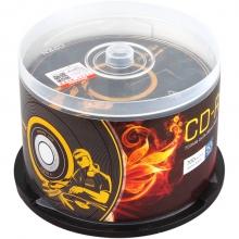 纽曼(Newsmy)CD-R 52速 700M 天籁系列 桶装50片 黑胶刻录盘