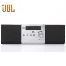 JBL 音响 音箱 迷你音响 CD机 蓝牙音响 收音机 台式音响 桌面音响 闹钟 USB 灰色 MS502GM