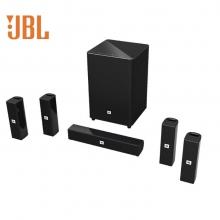 JBL 音响 音箱 5.1声道 家庭影院 蓝牙 壁挂 内置集成一体式 功放 电视音响 电脑音响 CINEMA 325