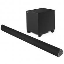 漫步者(EDIFIER)B7 专业电视音响 家庭影院 无线蓝牙回音壁 配备无线低音炮的全功能SOUNDBAR 黑色