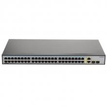 华为(HUAWEI)S1700-52R-2T2P-AC 非网管48口百兆以太网 交换机