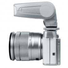 美科(MEIKE)MK320 S 银色版 索尼闪光灯 TTL闪光灯 自动闪光灯 限量销售