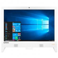 联想(Lenovo)AIO 310 一体机电脑(A6 9200 4G 1T 集显 无线网卡 蓝牙 Win10)19.5英寸 白色