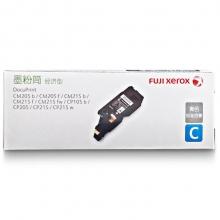 富士施乐(Fuji Xerox)CP105b/CM215fw/CM215/CP215青色(经济型)原装墨粉筒/粉盒/碳粉/耗材