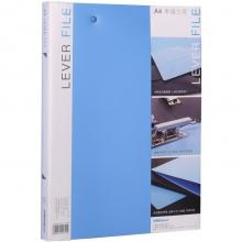 可得优(KW-triO) 原子夹防锈装订夹 A4单双夹强力文件夹 加厚多规格 W101单夹文件夹蓝色