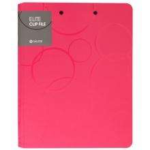 树德(Shuter) A4/双夹办公文件夹 高端资料夹 UT精英系列 U1042W 玫红色