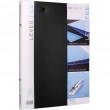 可得优(KW-triO) 原子夹防锈装订夹 A4单双夹强力文件夹 加厚多规格 W201双夹文件夹黑色