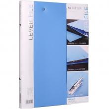可得优(KW-triO) 原子夹防锈装订夹 A4单双夹强力文件夹 加厚多规格 W201双夹文件夹蓝色