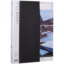 可得优(KW-triO) 原子夹防锈装订夹 A4单双夹强力文件夹 加厚多规格 W101单夹文件夹黑色