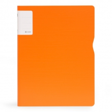 树德(Shuter) A4单夹文件夹 加厚办公资料夹 UT彩虹系列 U6141 橙色