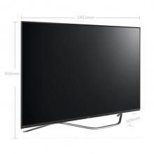 夏普(SHARP) LCD-65SU761A 65英寸4K安卓电视65SU760A升级版