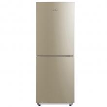 美的(Midea) 金色两门双门家用小型冰箱207升风冷无霜电脑控温 BCD-207WM 金色