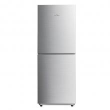 美的(Midea) BCD-175M 175升节能省电双门小冰箱 静音家用小型电冰箱 银色