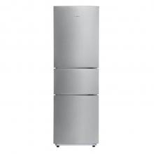 美的(Midea) 小型三门冰箱家用节能静音219升BCD-219TM 银色