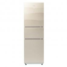 美的(Midea) BCD-239WTGM 239升 风冷无霜 电脑控温 三门家用电冰箱 格调金