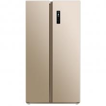美菱(MeiLing) BCD-551WPCX 551升 变频无霜 节能静音 电脑控温 时尚纤薄 对开门冰箱(金色)