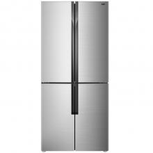 美菱(MeiLing)BCD-439ZP9CX 439升 0.1度恒温变频 电脑控温 多温区分类存储 节能静音 十字对开门冰箱