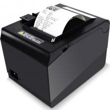 爱宝(Aibao)A-8007 厨房热敏小票打印机(黑色)票据打印80mm宽度 USB+串口+网口
