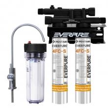 爱惠浦(Everpure)Twin PF-4FC-S双联净水器 大流量过滤系统