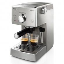 飞利浦(PHILIPS)咖啡机 半自动意式咖啡机带经典奶泡器 HD8327/92
