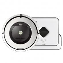 美国艾罗伯特(iRobot) 扫擦套餐 861+381智能拖地扫地擦地机器人吸尘器 套装