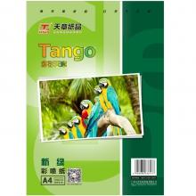 天章(TANGO)新绿天章A4相片纸彩色喷墨打印纸 110g/㎡ 100张/包