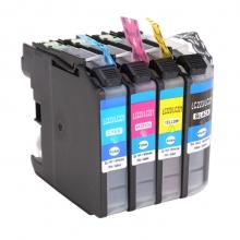 赛润适用兄弟MFC-J5320DW/J5620DW彩色打印机墨盒 LC221油墨水223 LC223四色套装墨盒
