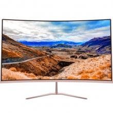 松人(SONGREN) R240 曲面显示器 24英寸HDMI液晶电脑显示屏 玫瑰金