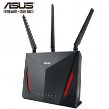 华硕(ASUS)RT-AC86U 2900M双频全千兆低辐射/智能无线路由器/MU-MIMO吃鸡路由/支持AiMesh