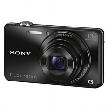 索尼(SONY)数码相机 卡片机 办公/家用便携照相机 DSC-WX220黑色 套餐三