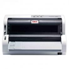OKI 5200F+ 发票打印机 支票票据打印机 快递单送货单连打针式打印机(支持82列24针平推打印)