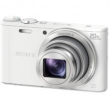 索尼(SONY)数码相机 卡片机 办公/家用便携照相机 DSC-WX350白色 套餐三